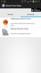 GhostCamEX Pack-Halloween Mask - screenshot thumbnail