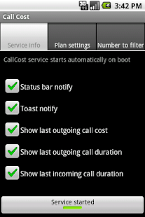 Call Cost 2 - screenshot thumbnail