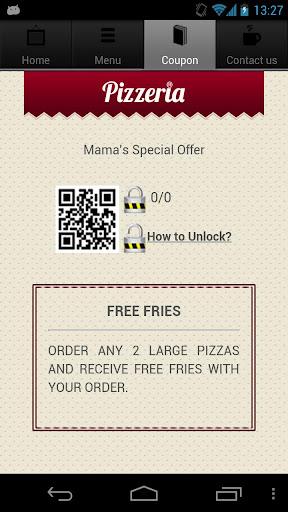 【免費商業App】Pizza Restaurant App-APP點子