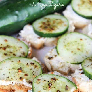 Italian Cucumber Appetizers Recipe