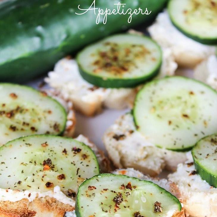 Italian Cucumber Appetizers