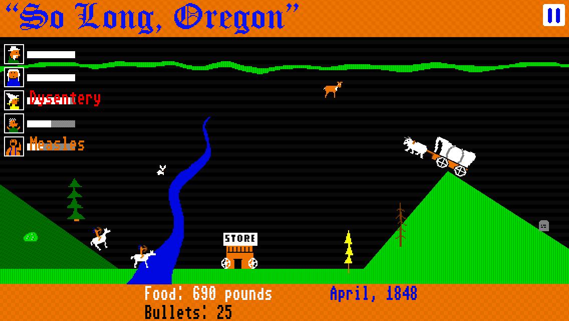 So Long, Oregon! screenshot #1