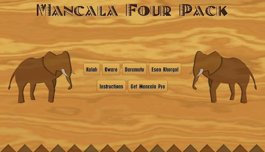 Mancala Four Pack Free