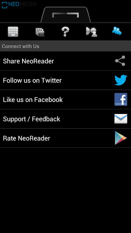 NeoReader QR & Barcode Scanner - screenshot