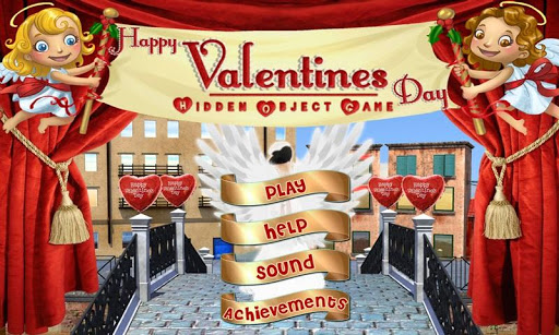 Happy Valentines Hidden Object
