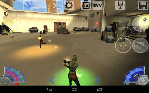 Jedi Academy Touch - screenshot