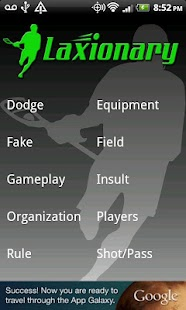 Lacrosse Dictionary- screenshot thumbnail
