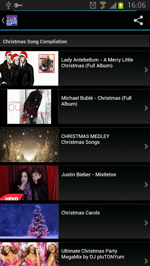 Christmas Songs for Holiday - screenshot