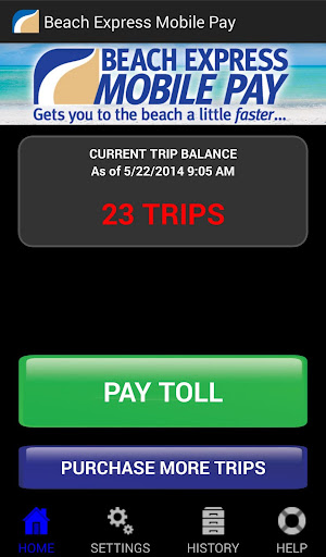 Beach Express Mobile Pay