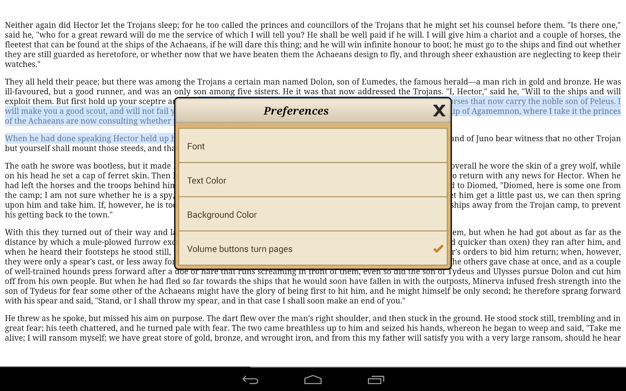 Ebook Reader screenshot #9