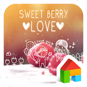 sweet berry love dodol theme