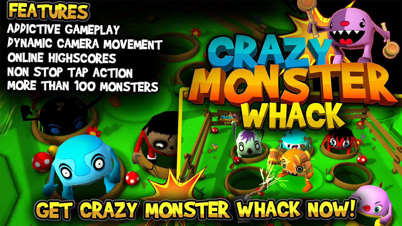 Crazy Monster Whack - screenshot