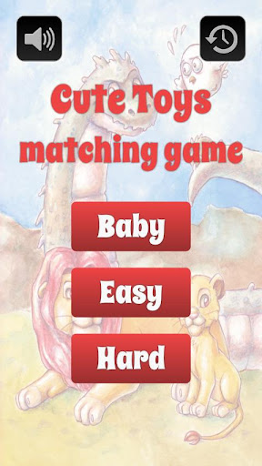 Cute Toys Matching Game