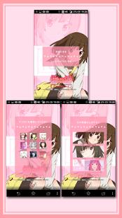 無料个人化Appのライブ壁紙/ 千石撫子「<物語>シリーズ セカンドシーズン」|記事Game