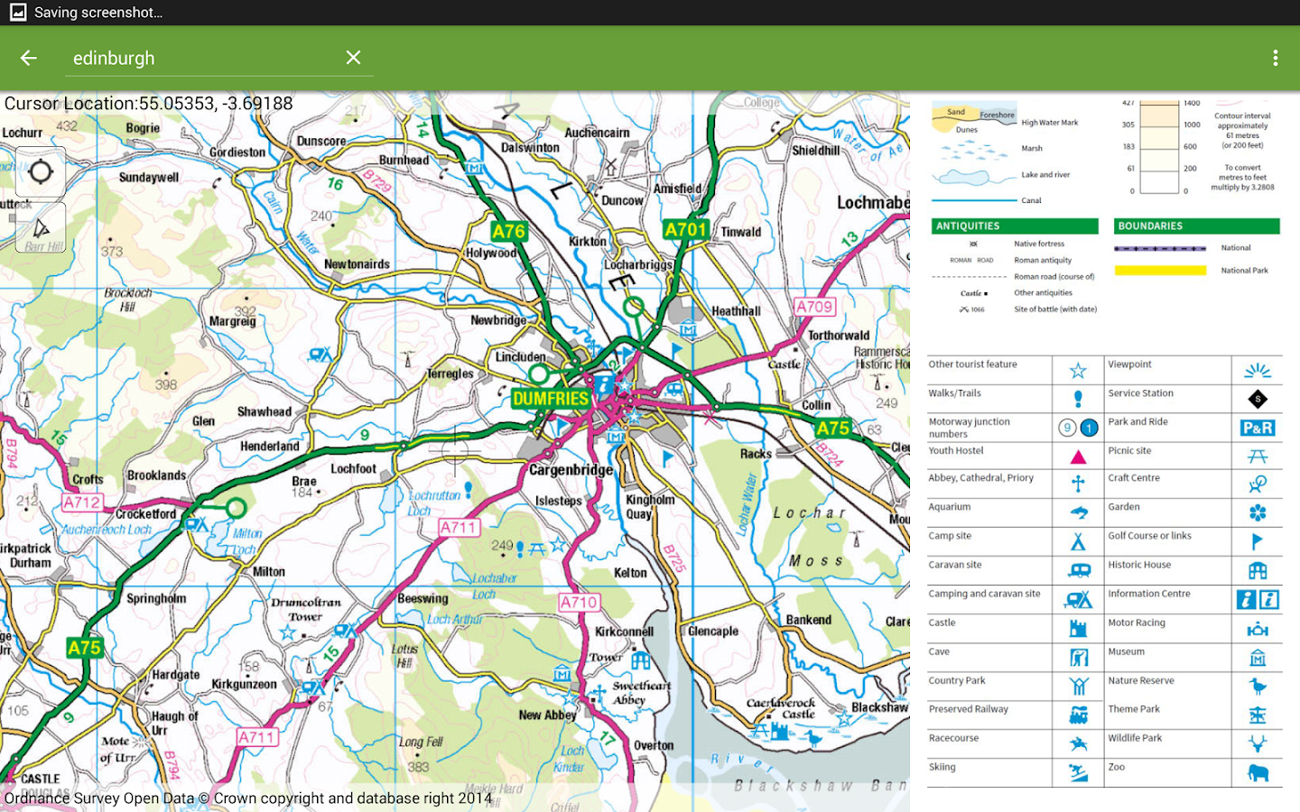 UK Offline Road Map OS Based Android Apps on Google Play – Road Map Uk