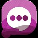 Easy SMS PurpleNight theme icon