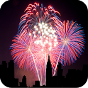 City Fireworks Live Wallpaper icon