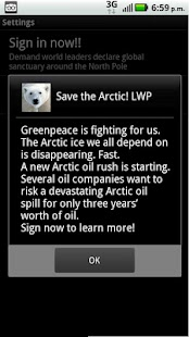 Save the Arctic!! LWP FREE- screenshot thumbnail