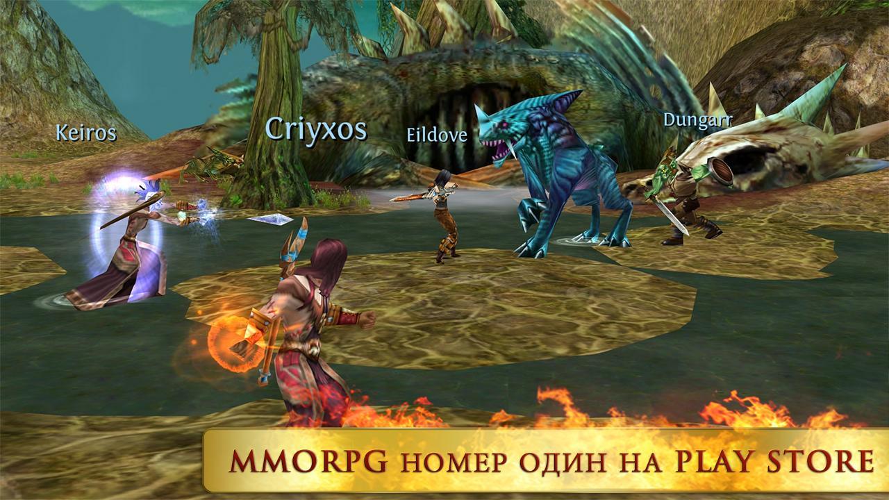 Войны хаоса и порядка Онлайн / Order & Chaos Online [v2.4.0] [iOS 5.1] [RUS] [Игры для iPhone/iPad/iPod]