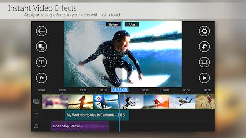 PowerDirector Video Editor App Screenshot 5
