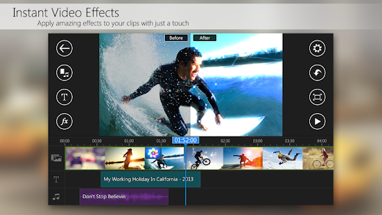 PowerDirector Video Editor App Screenshot 5