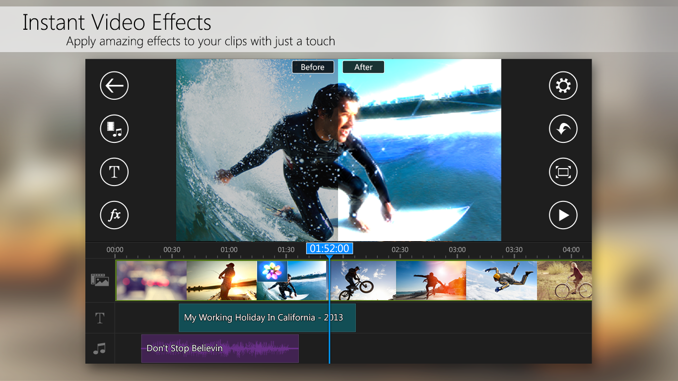PowerDirector – Video Editor - screenshot