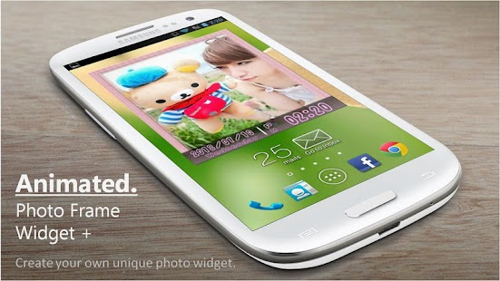 Animated Photo Frame Widget - screenshot thumbnail