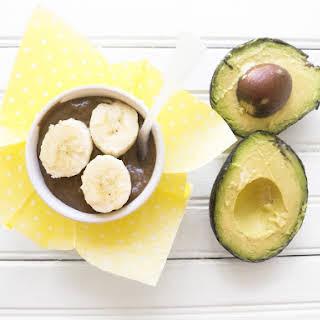 Creamy Chocolate & Peanut Butter Avocado Pudding.