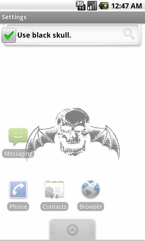 A7X Live Wallpaper - screenshot