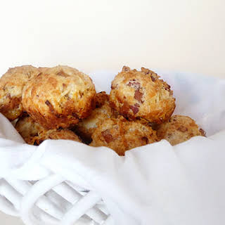 Bacon Onion Cheddar Biscuits.