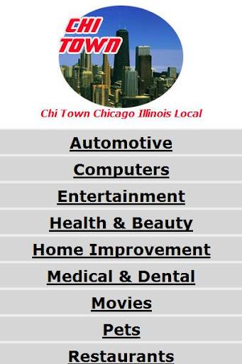 Chi Town Chicago Illinois IL.