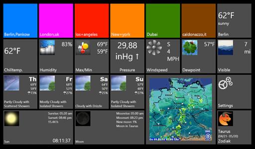Tile Weather Lite