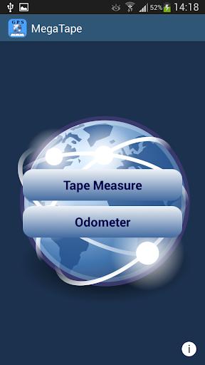 GPS MegaTape - Tape Measure