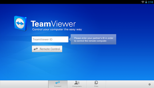 TeamViewer for Remote Control - screenshot thumbnail