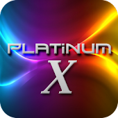 Platinum X Go LauncherEx Theme