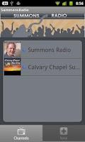 Screenshot of Summons Radio