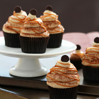 Caramel Cappucino Royale Cupcakes.