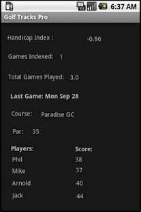 Golf Tracks Lite- screenshot thumbnail