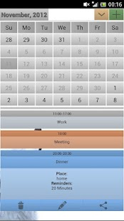 Easy Calendar - screenshot thumbnail