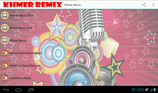 Khmer Remix And Radio