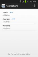 Screenshot of JailBase - Arrests + Mugshots