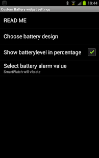 Custom Battery for SmartWatch - screenshot thumbnail