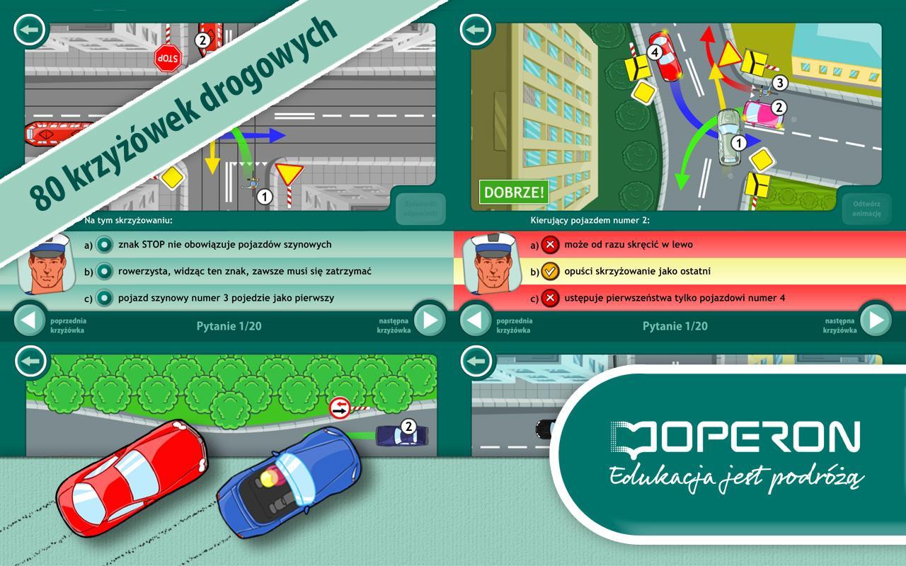Krzyżówki Drogowe - screenshot