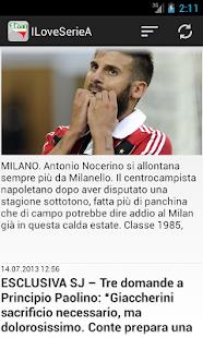 I Love Serie A - screenshot thumbnail