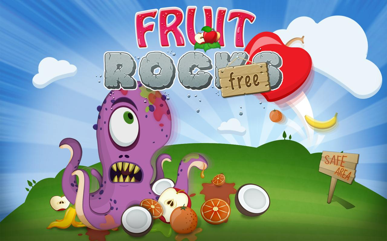 Fruit Rocks Free - screenshot