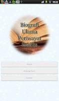 Screenshot of Biografi Periwayat Hadits