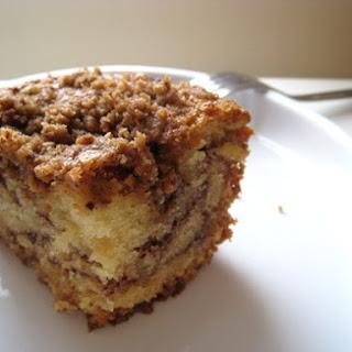 Sour Cream Coffee Cake Heaven.