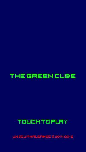 The Green Cube