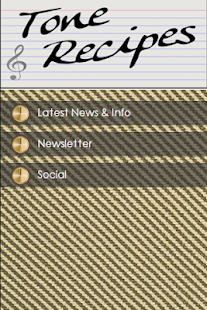 Tone Recipes- screenshot thumbnail