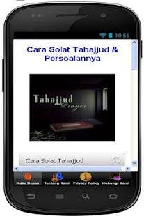 Cara Solat Tahajjud - screenshot thumbnail